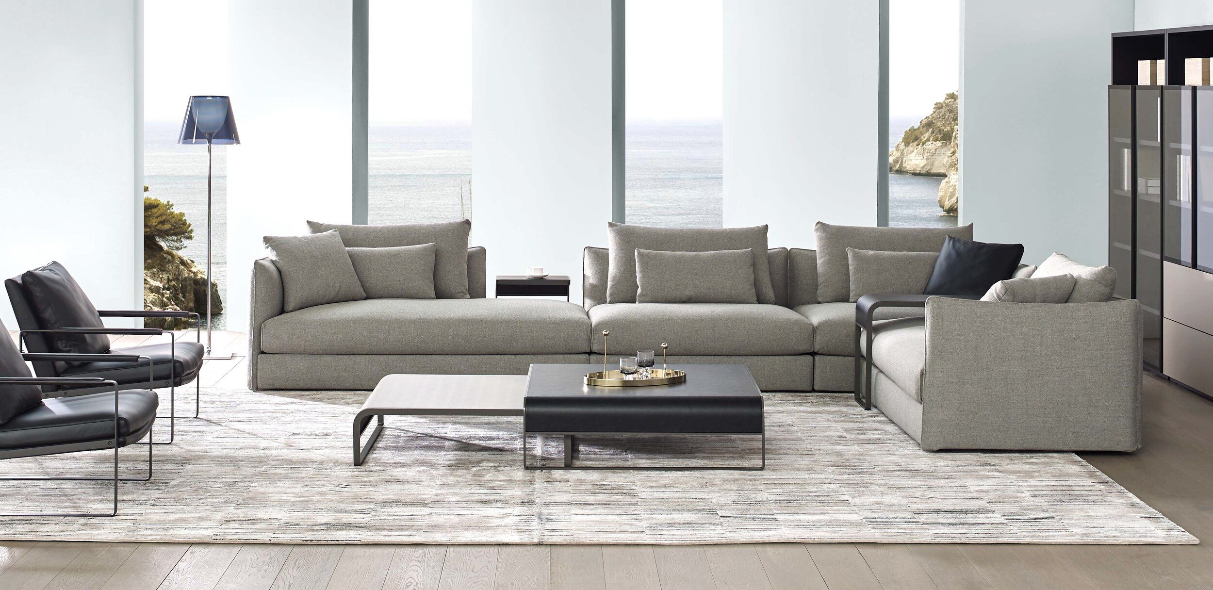 RM Living Cincinnati Contemporary Interior Furniture Design by Camerich