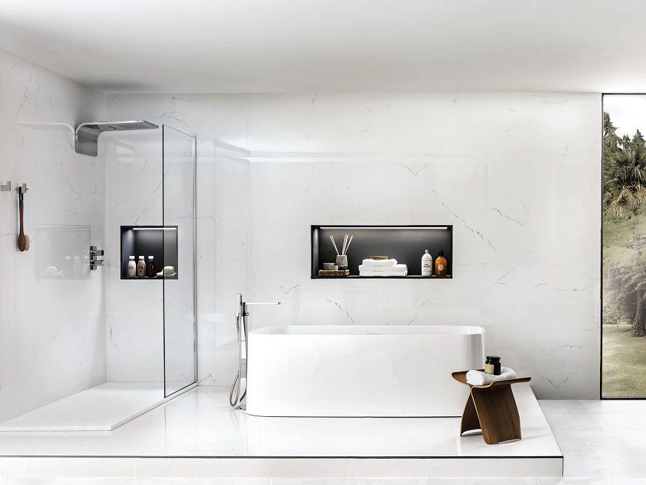 RM Living Cincinnati Modern Interior Design Custom Bathroom by Porcelanosa Porcelanosa4
