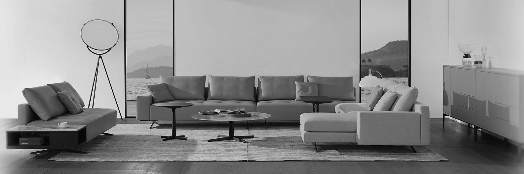RM Living Cincinnati Modern Interior Design Custom Contemporary Furniture By Camerich