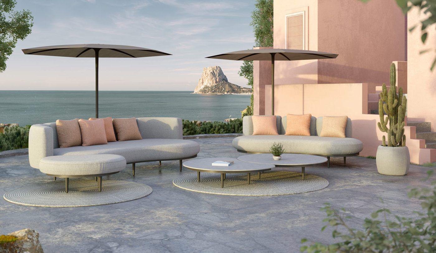 RM Living Cincinnati Modern Outdoor Furniture By Royal Botania