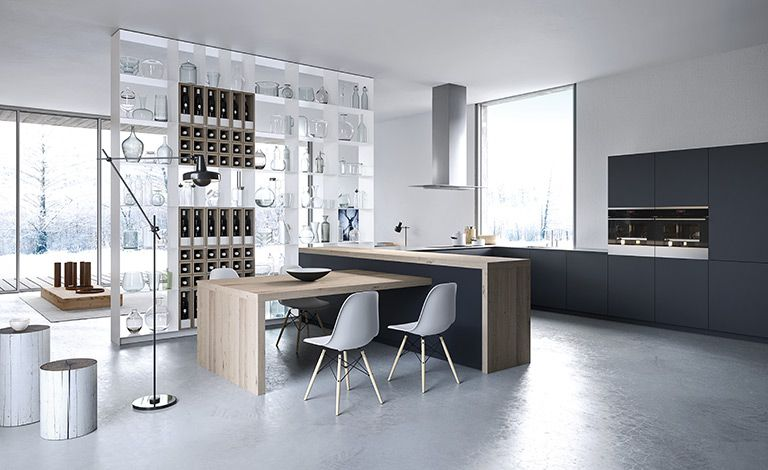 RM Living Cincinnati Custom Kitchen Contemporary Interior Design By The Cut