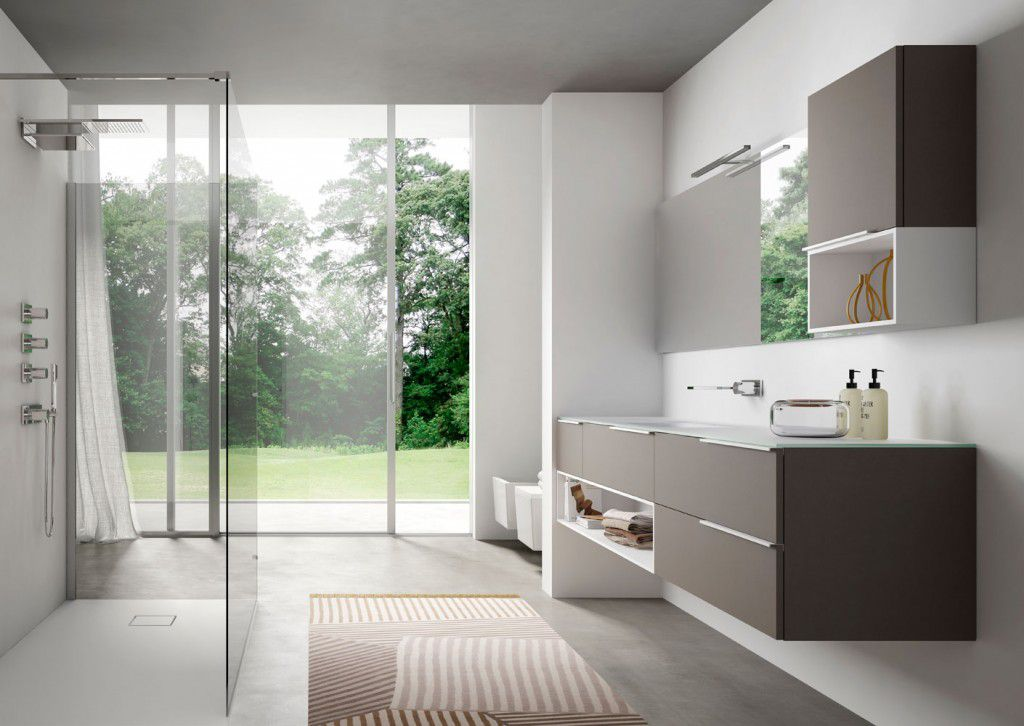 RM Living Cincinnati Custom Contemporary Bathroom Design By Idea Group