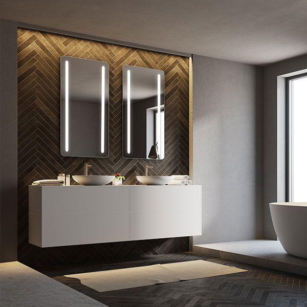 RM Living Cincinnati Interior Bathroom Design Mirror by Electric Mirror