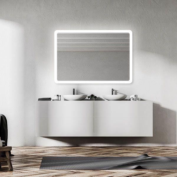 RM Living Modern Interior Bathroom Design Mirror by Electric Mirror