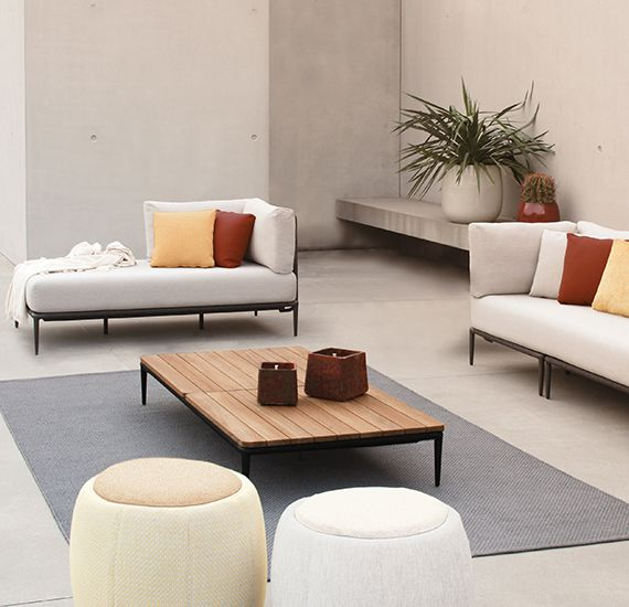 RM Living Cincinnati Contemporary Outdoor Furniture Design By Royal Botania