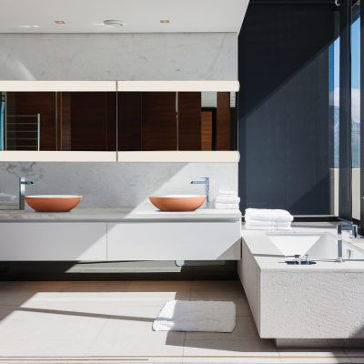 RM Living Cincinnati Modern Contemporary Bathrooms By MTI MTI4