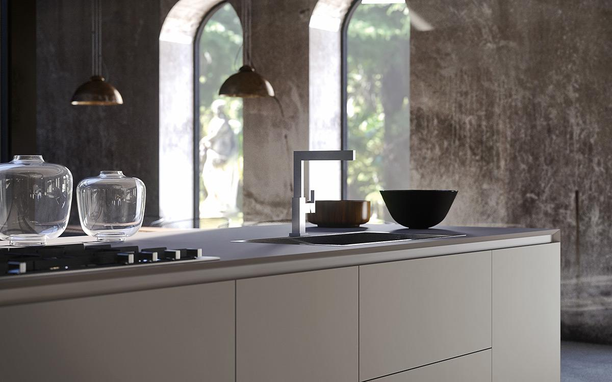 RM Living Cincinnati Interior Custom Modern Kitchen Design By The Cut