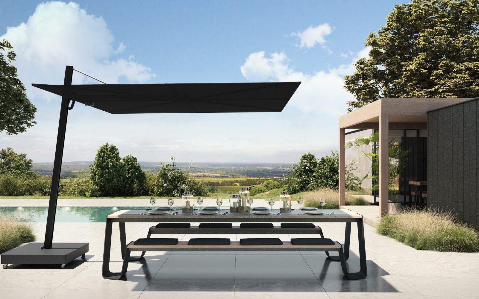 RM Living Cincinnati Custom Contemporary Outdoor Furniture By Umbrosa