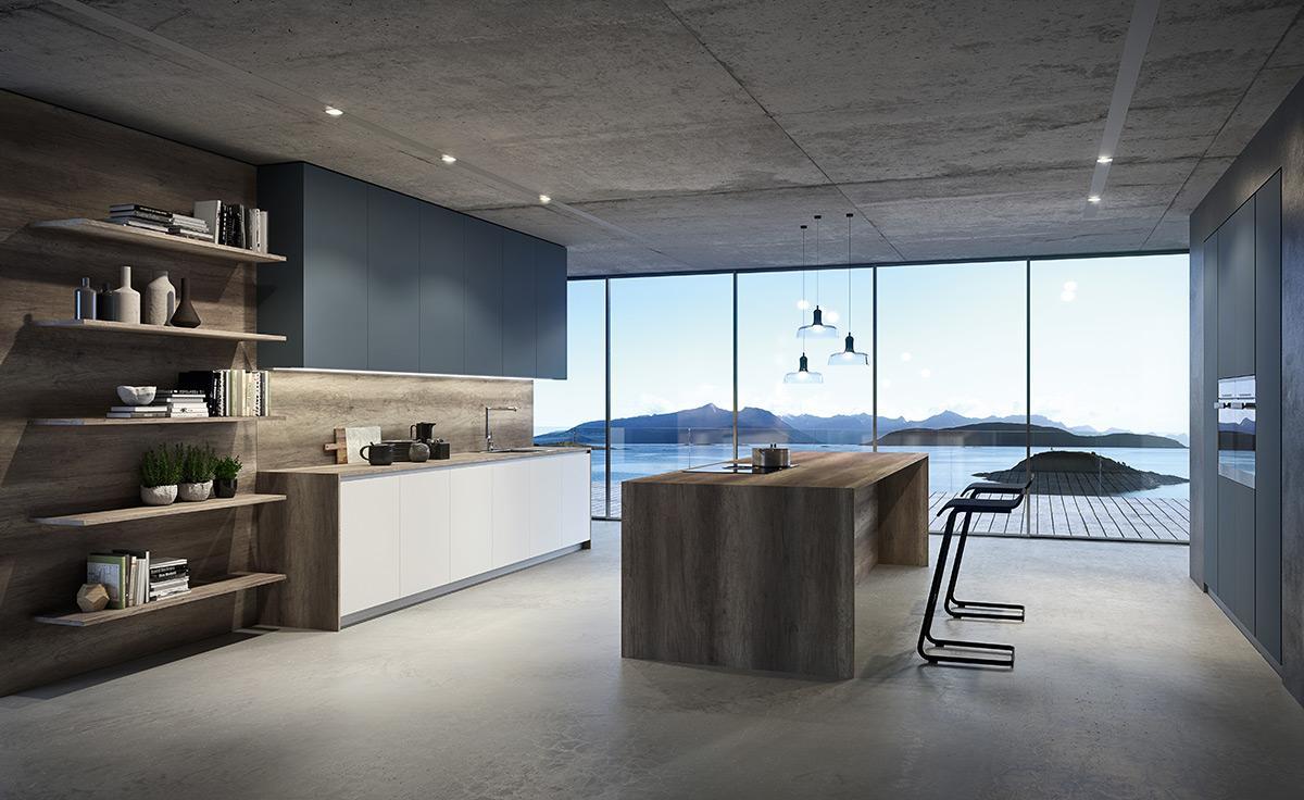 RM Living Cincinnati Interior Custom Contemporary Kitchen Design By The Cut