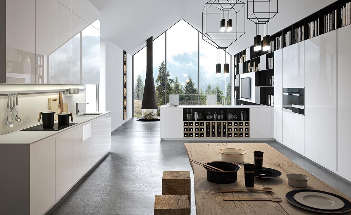 RM Living Cincinnati Interior Design Modern Kitchen By The Cut