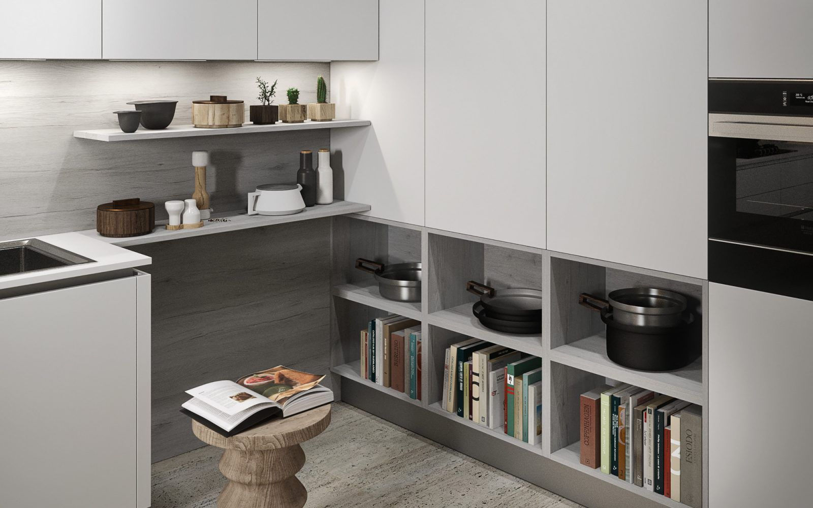 RM Living Cincinnati Interior Design Contemporary Kitchen By Record