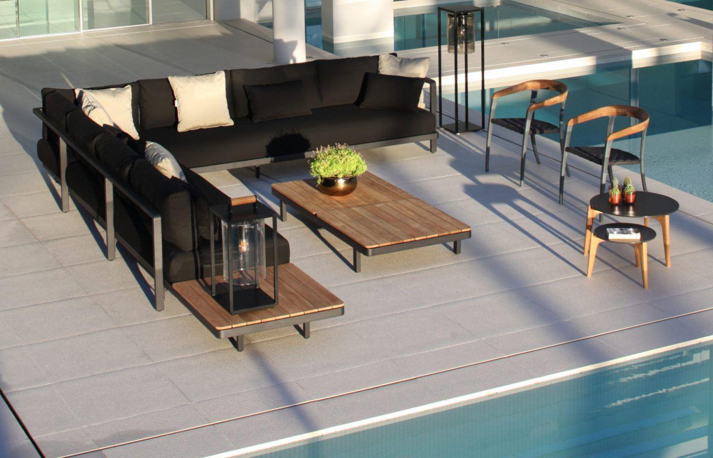 RM Living Cincinnati Modern Custom Outdoor Furniture Design By Royal Botania