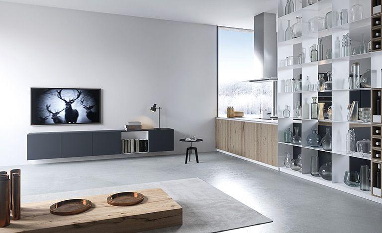 RM Living Cincinnati Custom Modern Interior Design Kitchen By The Cut