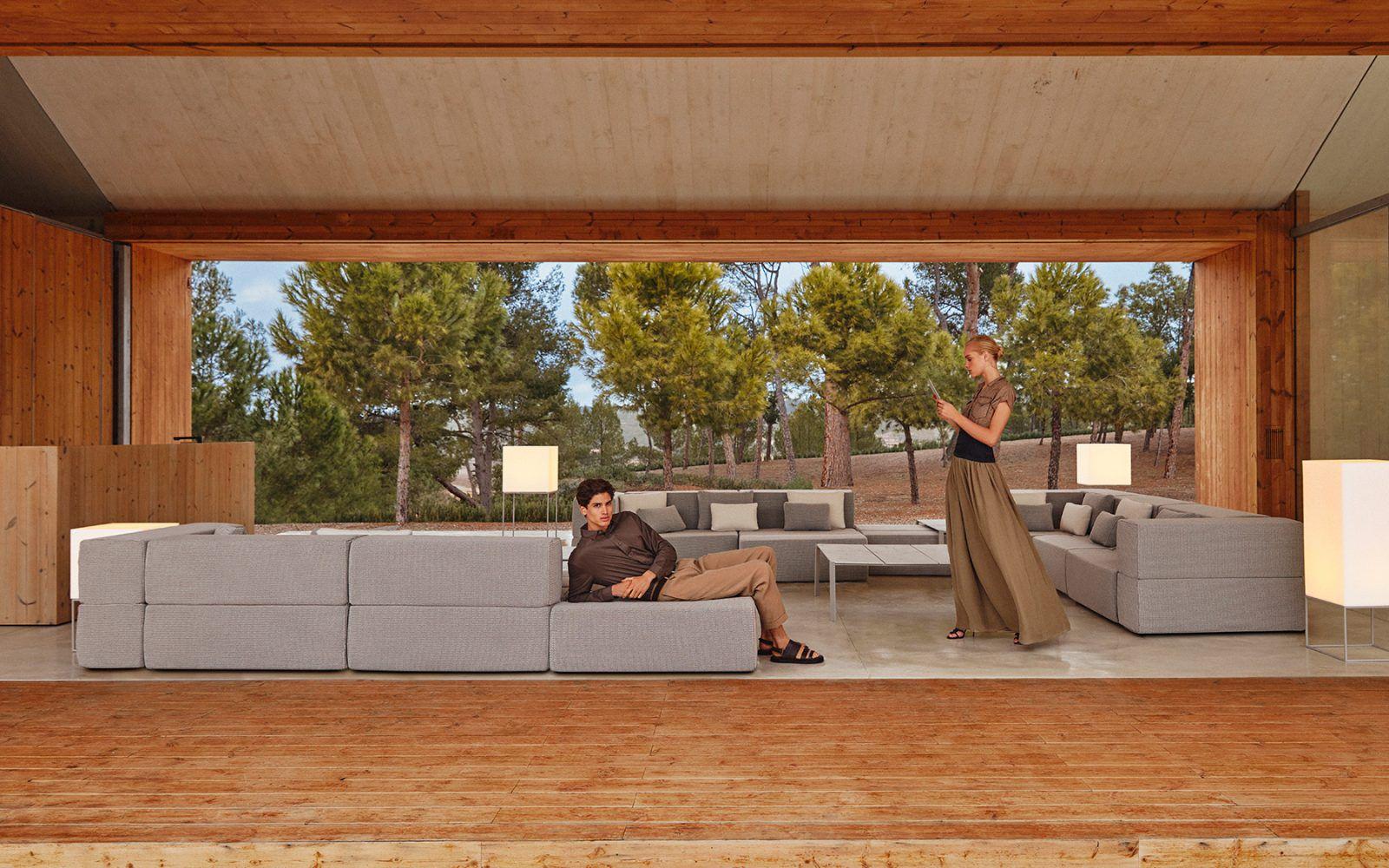 RM Living Custom Contemporary Outdoor Furniture Design By Vondom